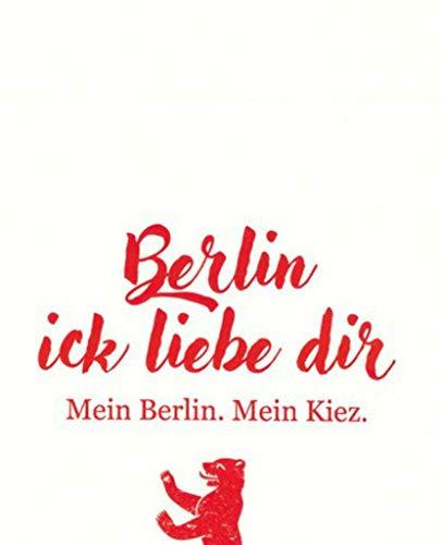 dt Ick Liebe dir 20 Stück 3-lagig 33x33cm ()