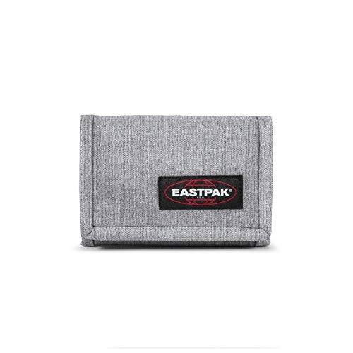 Portafoglio eastpack crew sunday grey colore grigio chiusura a velcro
