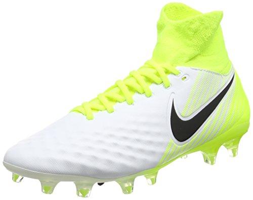 Nike Magista Orden II FG, Botas de fútbol para Hombre, Blanco White/Black-Volt-Pure Platinum, 40...