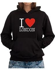 I LOVE London CLASSIC Women Dame Hoodie
