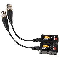 Ranuw 1 Paar passiver UTP CCTV Video Balun Transceiver für HDCVI HDTVI AHD CVBS Kamera
