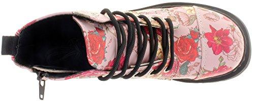 Bottes Femme Tuk Rose (multicolore)