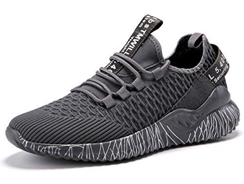 GJRRX Unisex Scarpe da Ginnastica Corsa Sportive Fitness Running Sneakers Basse Interior Casual all'Aperto 35-46