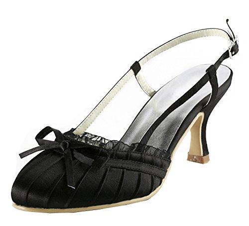 Kevin Fashion, Scarpe col tacco donna , Nero (nero),
