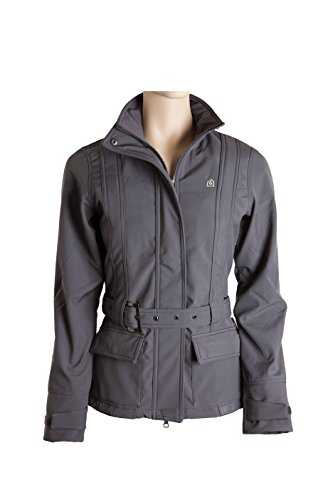 EOUS Heathrow Softshell Reitjacke Medium anthrazit