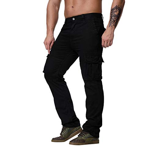 Herren Chino Hose - Modell Slim fit - Chinohose Casual mit Stretch Chino Herren Slim Fit Cargohose Jogger Designer Hose