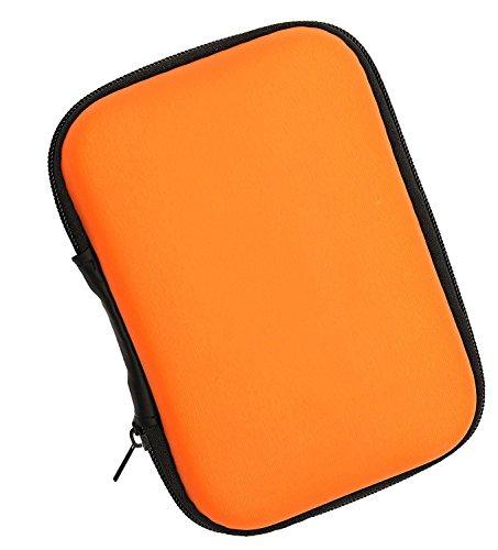 LUCKLYSTAR® Festplattengehäuse,Tasche,Tragbares Hartschalenetui zum Hören Speicherreißverschluss, Drahtloses Bluetooth Kopfhörerzubehör,Datenkabel, 2.5