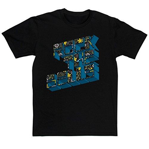 Men's Rock The Bells Hip Hop Music Tribute T-shirt