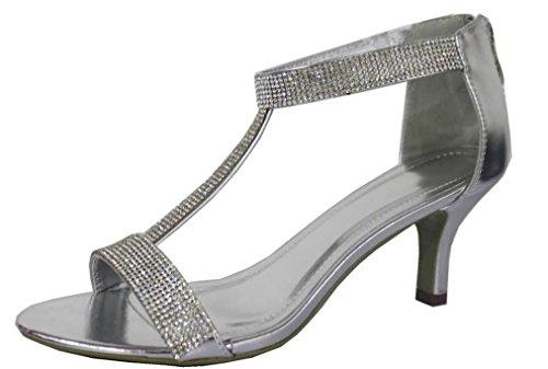Krasceva , Sandales pour femme silver