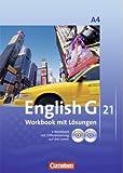 English G 21. Ausgabe A Band 4. Workbook mit CD-ROM (e-Workbook) und CD, Lehrerfassung