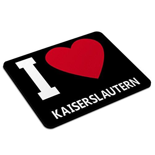 PhotoFancy Mousepad Kaiserslautern - Motiv I Love - Städtemousepad, personalisiertes Mauspad, Gaming-Pad, Maus-Unterlage, Mausmatte -