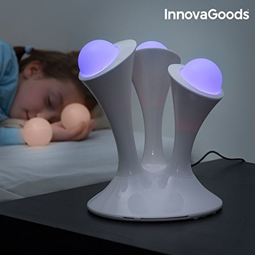 innovagoods Lampe LED Mehrfarbig, white