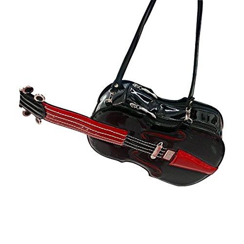 Borse Yy.f Borse Moda Borse Violino Artigianali Borse Sacchetto Di Spalla Collasso Obliquo Colore 2 Black