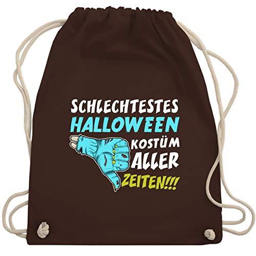 estes Halloween Kostüm aller Zeiten - Unisize - Braun - WM110 - Turnbeutel & Gym Bag ()