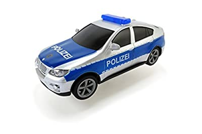 Dickie Toys 203713000 - Police Patrol, Polizeiauto inklusive Batterien, 20 cm von Dickie Spielzeug