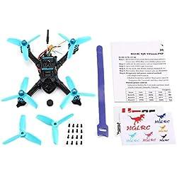 Lorenlli Ajuste para HGLRC XJB 145 145mm Micro Mini RC sin escobillas Carreras Quadcopter Drone con FPV CCD VTX / F4 FC con OSD PNP