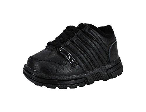 K-Swiss Infant/Toddler Shoes Rathburn Black Shadow Sneakers Black
