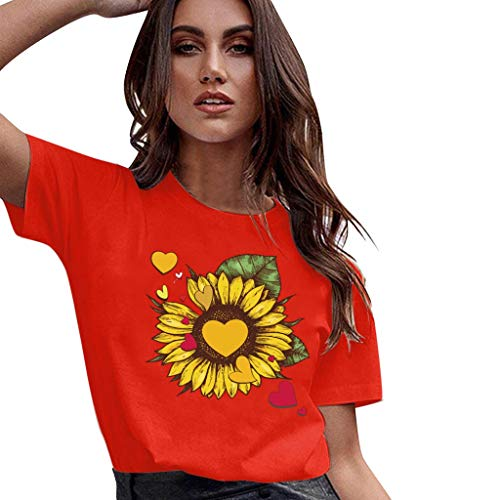 Damen Tops Damen Gestreiftes Bauchfrei T-Shirt, Sommer Kurzarm Crop Tops Teenager Mädchen Sport Oberteile Bluse Lace up Hemd Pullover -