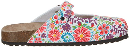 Softwaves 276 057, Mules femme Mehrfarbig (WHITE MULTI)