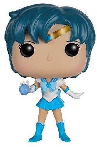 FunKo - Sailor Mercury Figura de Vinilo, colección de Pop, seria Sailor Moon (7301)