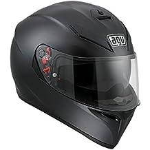 AGV K3SV Negro Mate-Casco de motorista