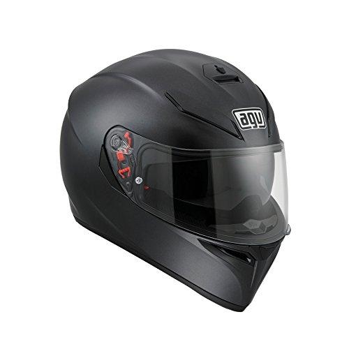 AGV K3SV Negro Mate–Casco de motorista