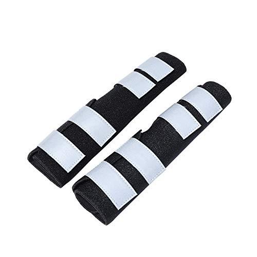 JKRTR Haustierkleidung 2019,1 Paar Hunde-Hinterbeinschoner Canine Hind Hock Joint Sleeves Reflective Knieschützer(schwarz,M)