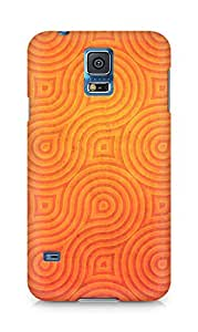 Amez designer printed 3d premium high quality back case cover for Samsung Galaxy S5 (Wheels rotation texture background)