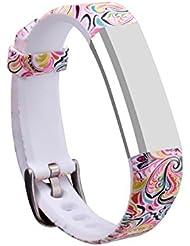 Bracelet de remplacement avec fermoir Mtsugar pour Fitbit Alta/Fitbit Alta HR Bracelet