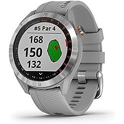 Garmin Approach S40 Smartwatch Golf GPS Acero Silicona Polvo Gris 010-02140-00
