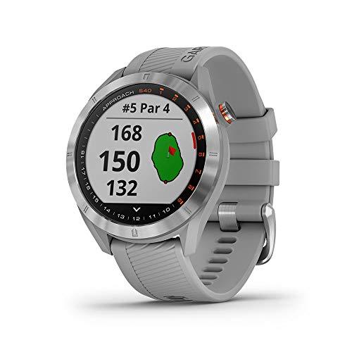 Garmin Golfuhr Approach S40 grau (13) 0 Touch Pro Silikon