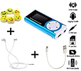 Vizykart® MP3 Player with LCD Display | Free Earphone Case | in Built