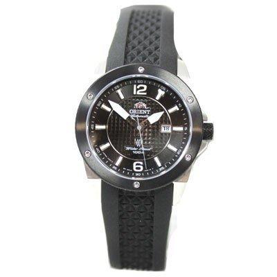 Orient FNR1H001B0 Sporty - Reloj automático de pulsera para mujer (cristal de zafiro, correa de caucho e indicador de fecha)