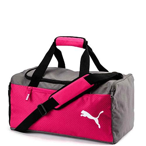 Puma Fundamentals Sports Bag S Sporttasche, Beetroot Purple-Steel Gray, OSFA