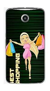 UPPER CASE™ Fashion Mobile Skin Decal For Motorola Moto X2/Moto X (2nd Gen) [Electro...