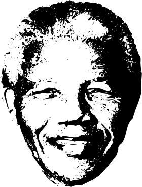 Mister Merchandise Tote Bag Nelson Mandela Borsa Bagaglio , Colore: Nero Nero