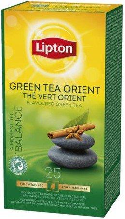 Lipton TCHAE Green Tea Orient 1 Box 25 Enveloped Tea bags. Taster Pack