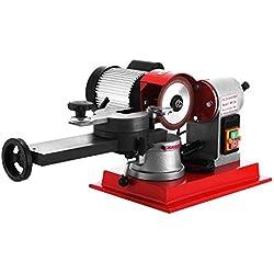 Mophorn Lame de Scie Circulaire Aiguiseur 2850PRM Machine à Affûter 125mm Lame pour Carbure(370W)