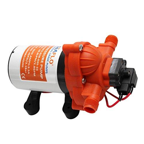 B Baosity DC24 V 11.6L / min Automatische Membranpumpe Wasserpumpe Hochdruckpumpe