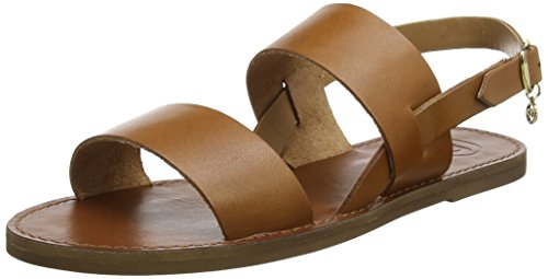 emchensandalen, Brown (Tan Leather), 39 EU (Dune Sandalen)