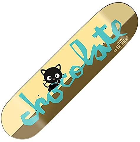 Chocolate Sanrio Anderson Tray Unisex Adult's Skateboard multi-coloured