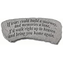 Kay Berry- Inc. 36020 If Tears Could Build A Stairway - Memorial Bench - 29 Inches x 12 Inches x 14.5 Inches