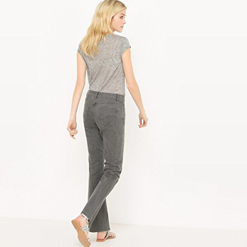 La Redoute Collections Donna Jeans Bootcut Grigio