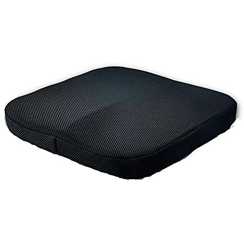 AWAKMER Orthopädie Gedächtnisschaum Sitzkissen Hilft bei Ischias Rückenschmerzen perfekt für Ihren Bürostuhl 40 * 40 * 6cm