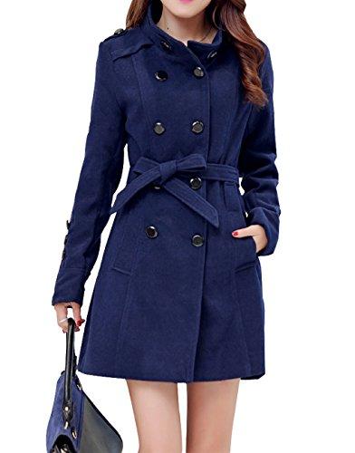 womens-warm-fleece-hooded-double-breast-jacket-with-belt-coat