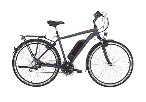 "FISCHER Herren - E-Bike Trekking ETH 1806 (2019), anthrazit matt, 28"", RH 50 cm, Hinterradmotor 45 Nm, 48V Akku"
