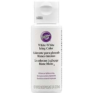 Wilton flüssige Farbe Weiß Weiß 59 ml