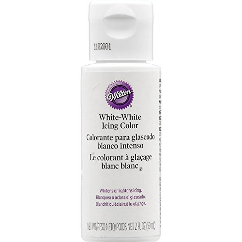 White-White Icing Color 56 Gram (2 Ounce)