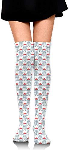 nchengcongzh Mädchen Rock Socken Uniform Badminton Frauen Tube Socks Kompressionssocken & 281