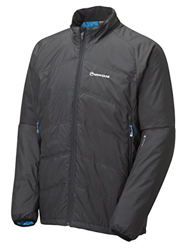 Montane Flux Micro Jacket - Giacca Primaloft - Uomo - Antracite - Large (L) a38be2ff7855
